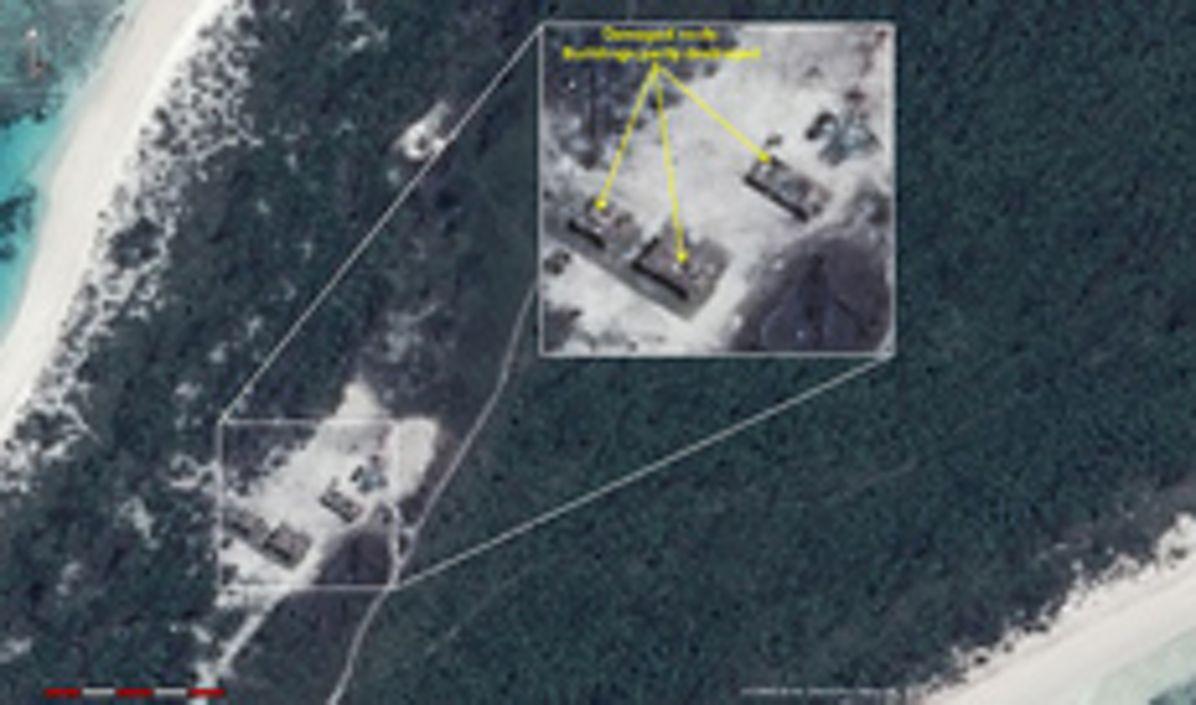 Change Detection analysis of Farquhar Island, Seychelles, after major hurricane