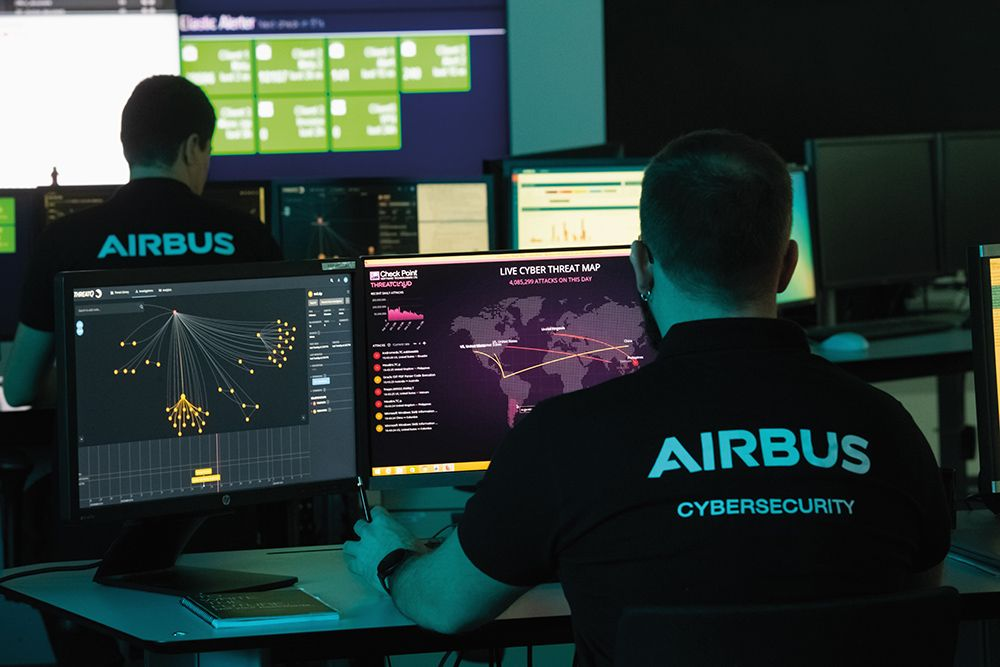 "Airbus ""cyber bodyguards"" provide peace of mind during the COVID-19 pandemic"
