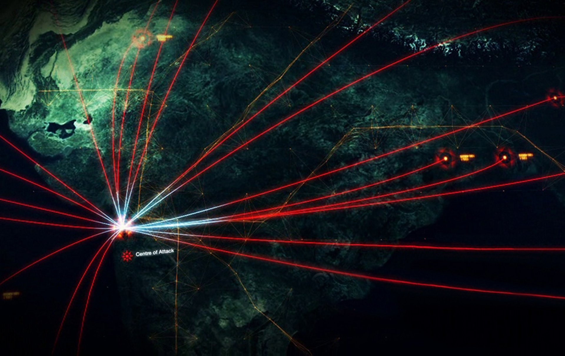 Cyber-Attack illustration