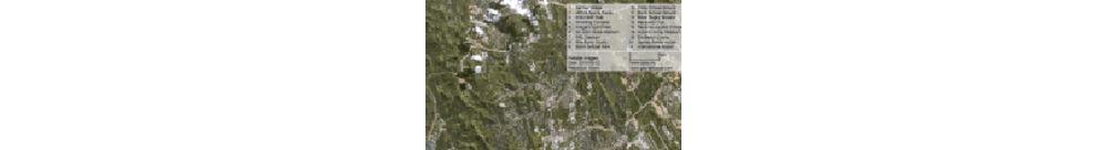 Satellite image of Pacific Games facilities