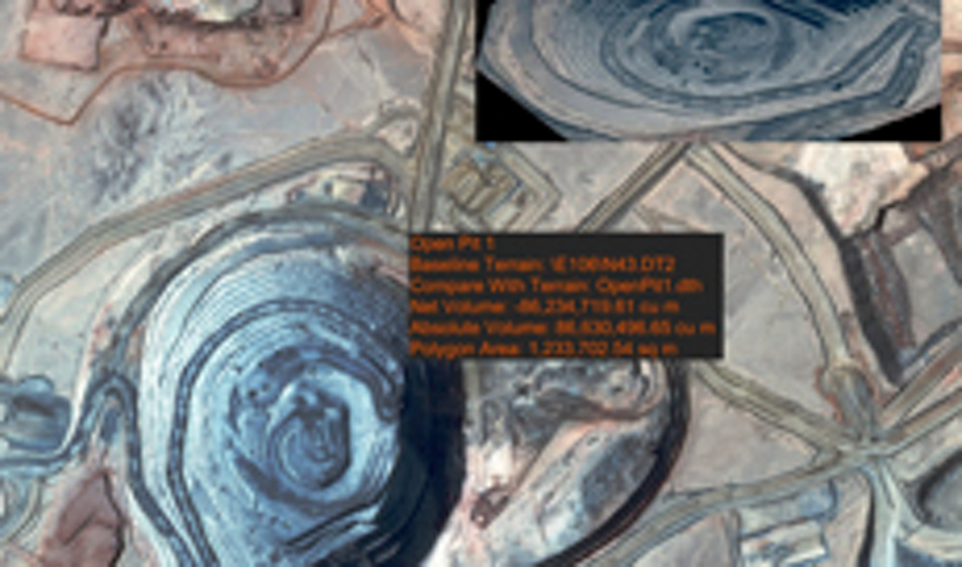 """""""Stack Insight"""", a uniquely accurate satellite-based change detection and volume calculation service"""