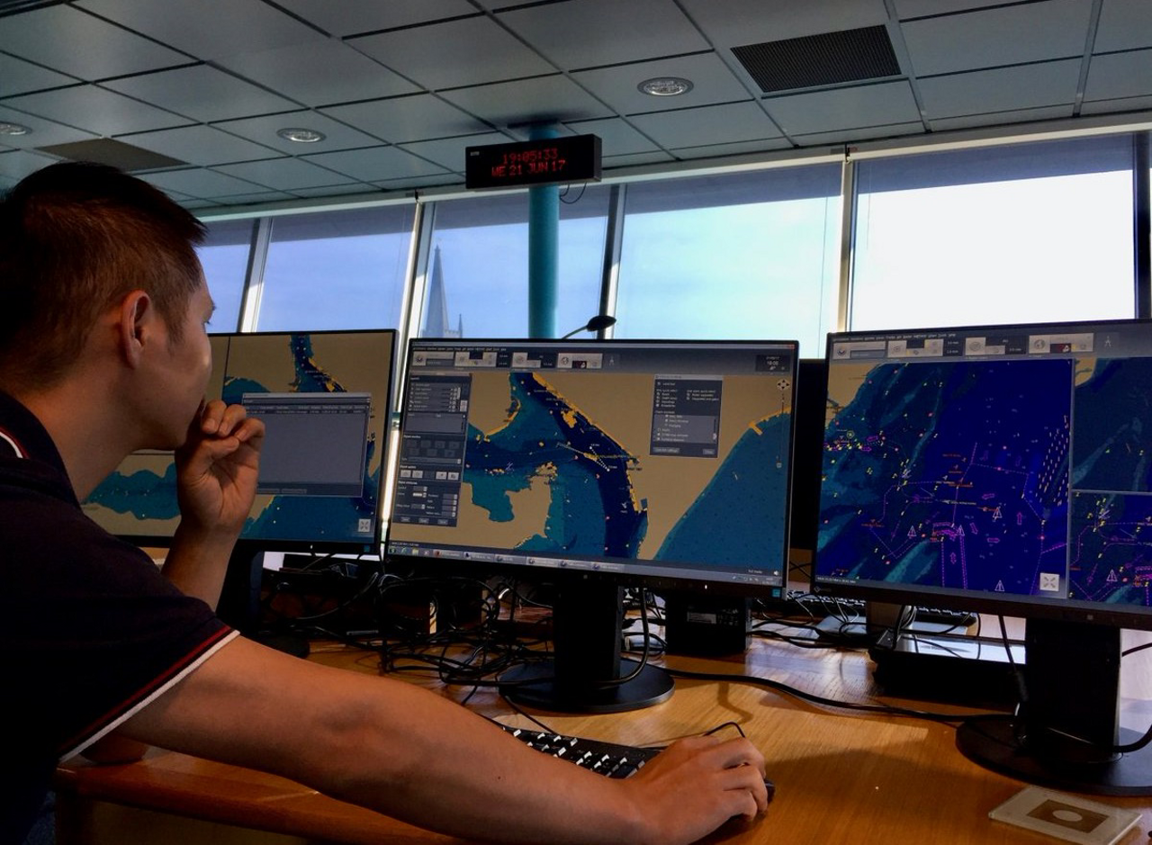 Coastal surveillance is conducted using Airbus' STYRIS solution for maritime safety and security.