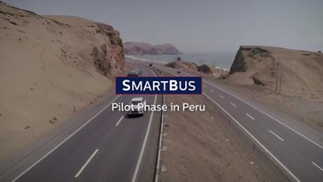 SmartBus, an innovative geospatial monitoring pilot project UK