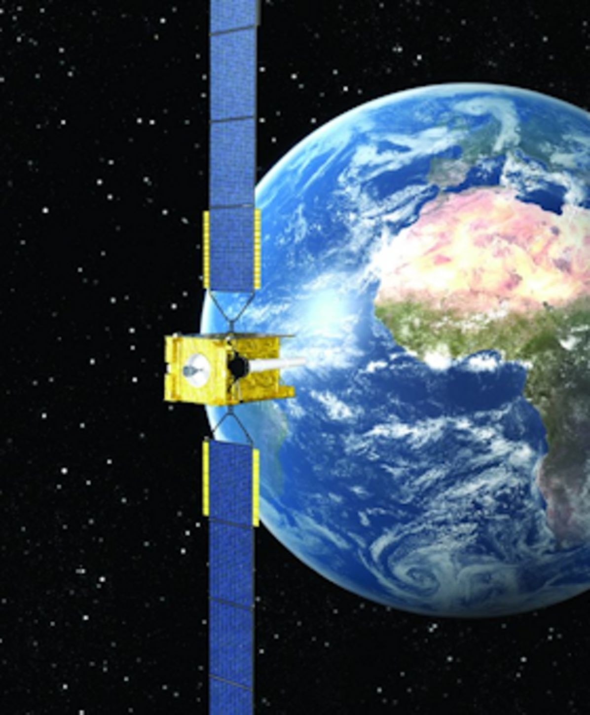 Skynet 5A secure communications satellite