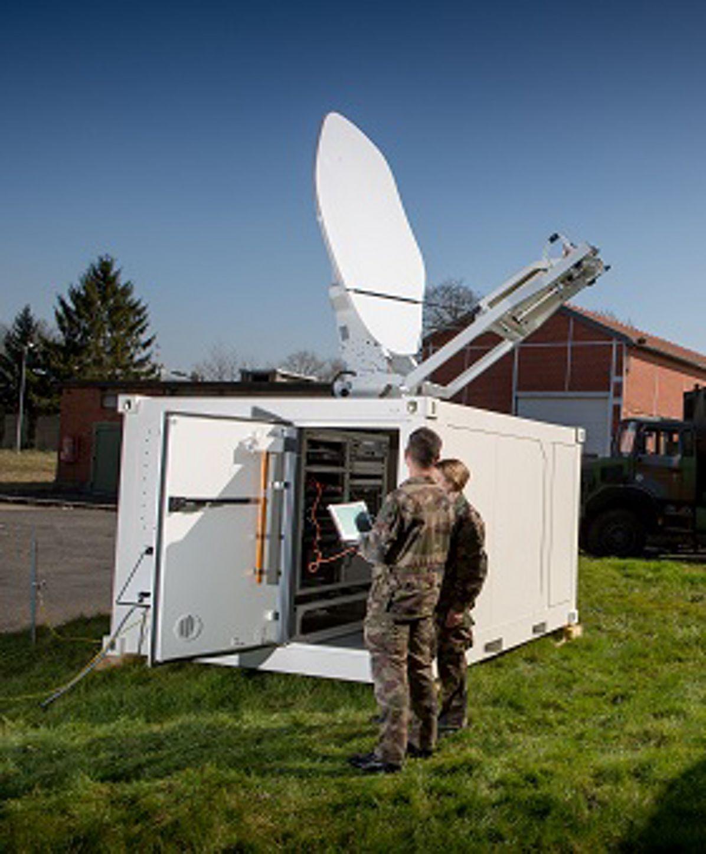 'Comcept' very-high speed satellite network in demonstration