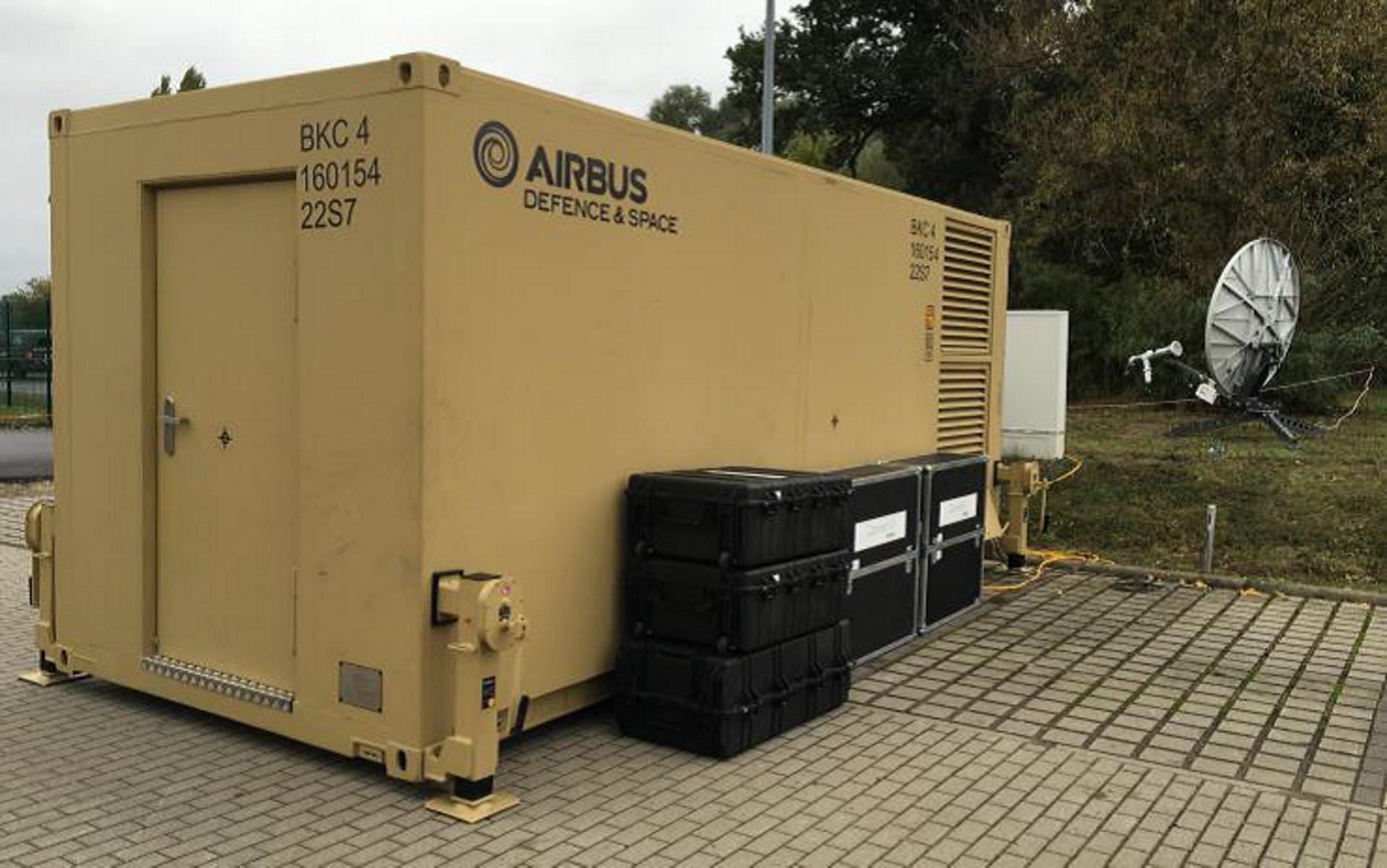 German Troops Support Communications Worldwide