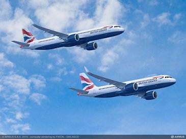 British Airways A320 Family formation