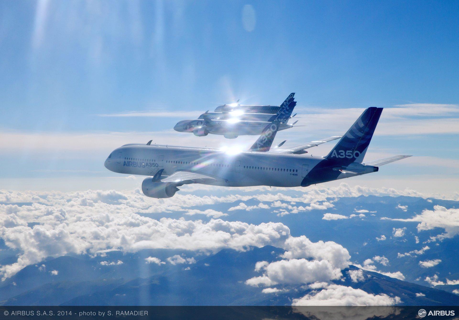 A350 XWB – Formation flight 4
