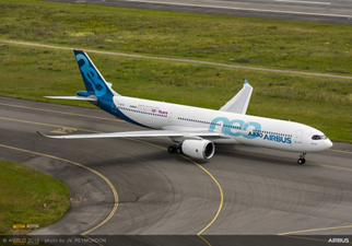 Airbus 50th Years Anniversary Formation Flight - May 2019