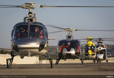 Formation flight with Airbus Helicopters: 50-year celebration