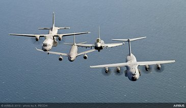 Airbus Military Formation Flight - Airbus 50th Years Anniversary