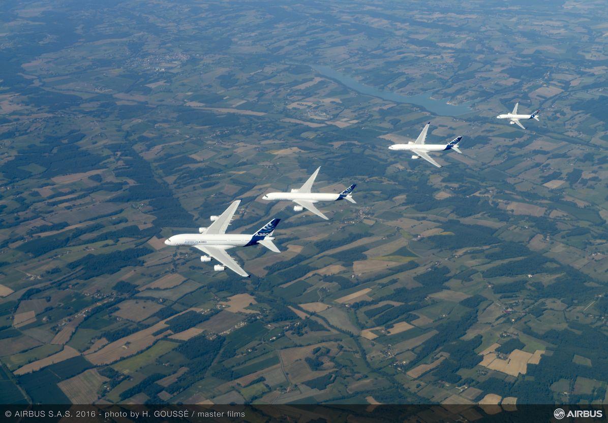 Airbus family flight 5