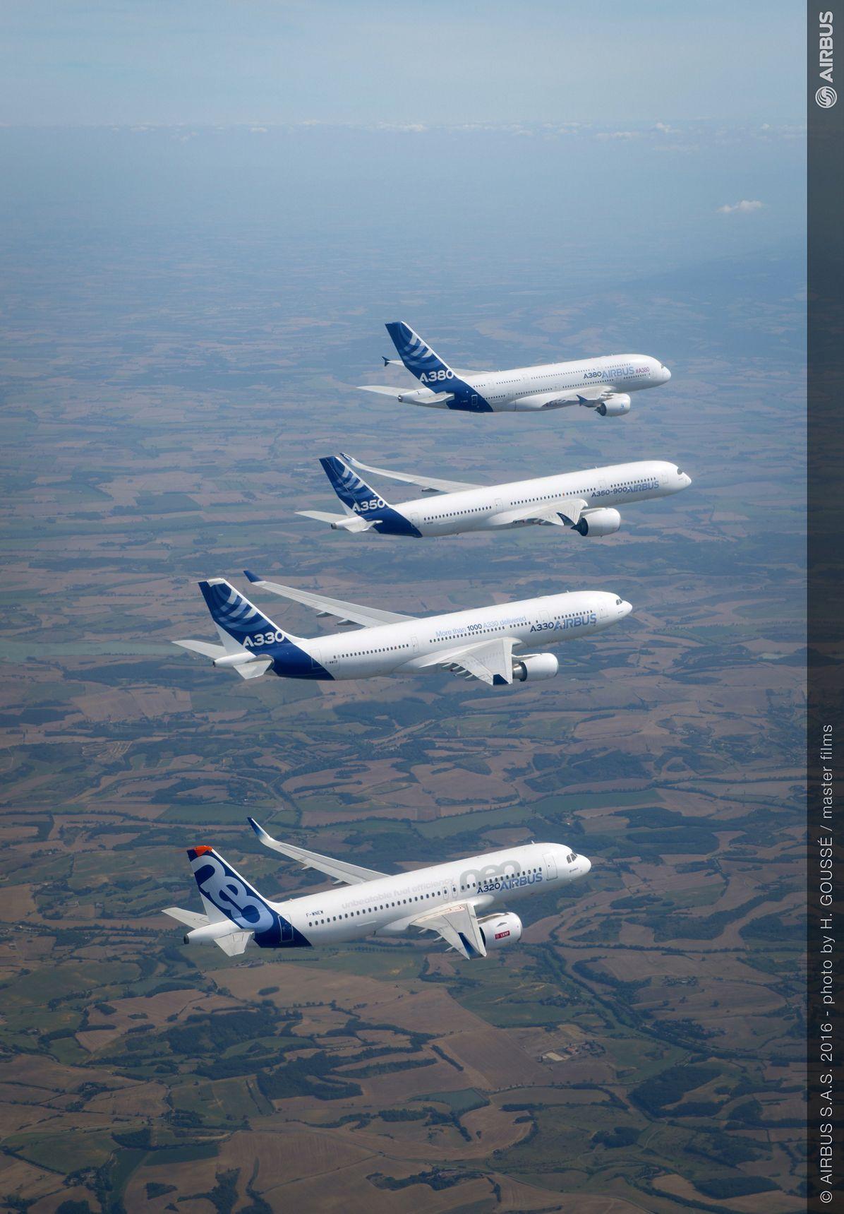 Airbus family flight 4  A380