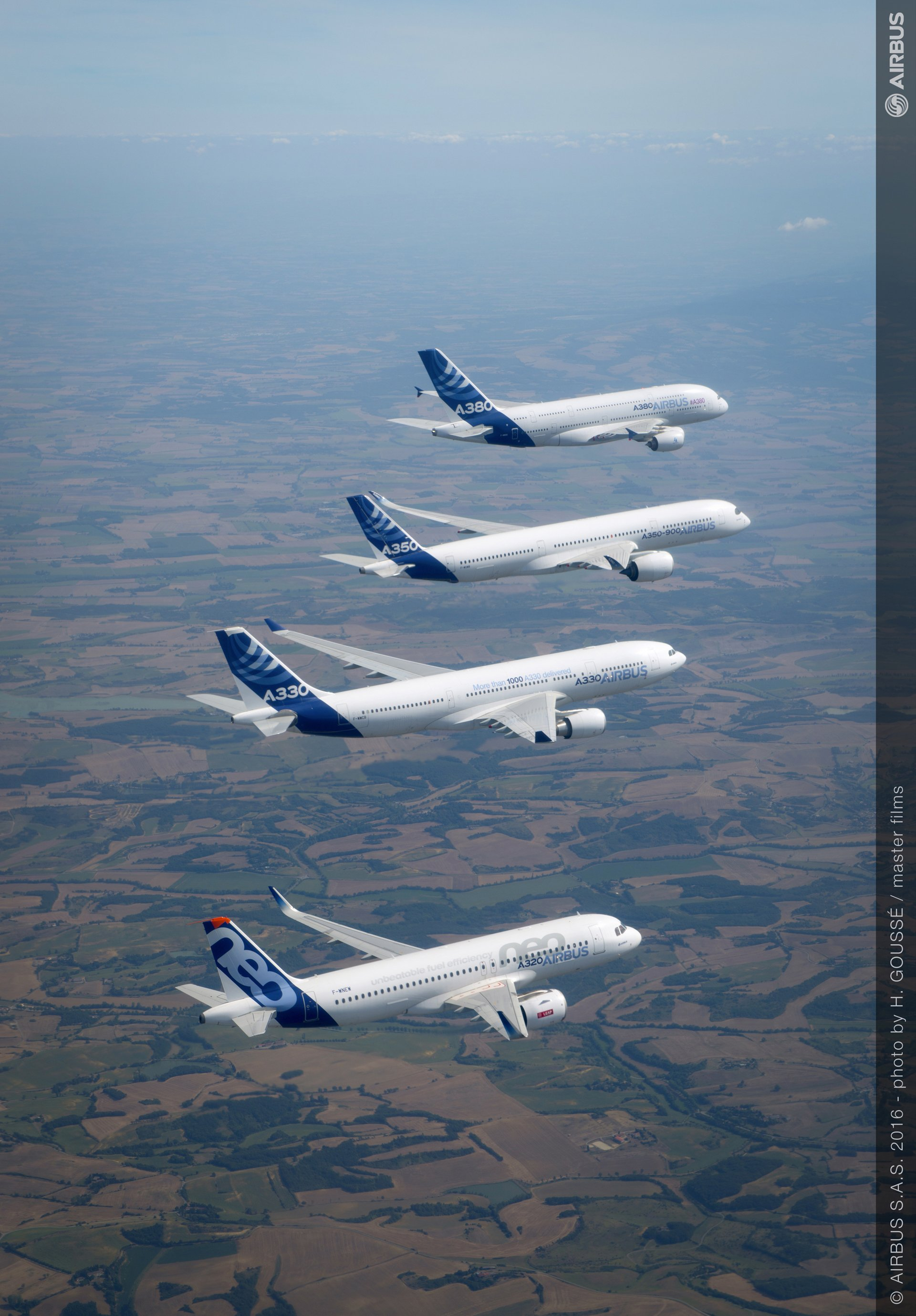Airbus family flight 4  A380