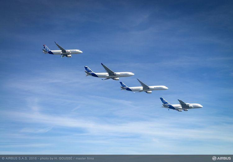 Airbus family flight 2