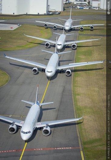 Airbus family flight 1