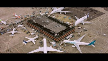 Airbus Commercial Aircraft formation flight – 50-year celebration