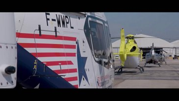 Airbus Helicopters formation flight – 50th anniversary celebration