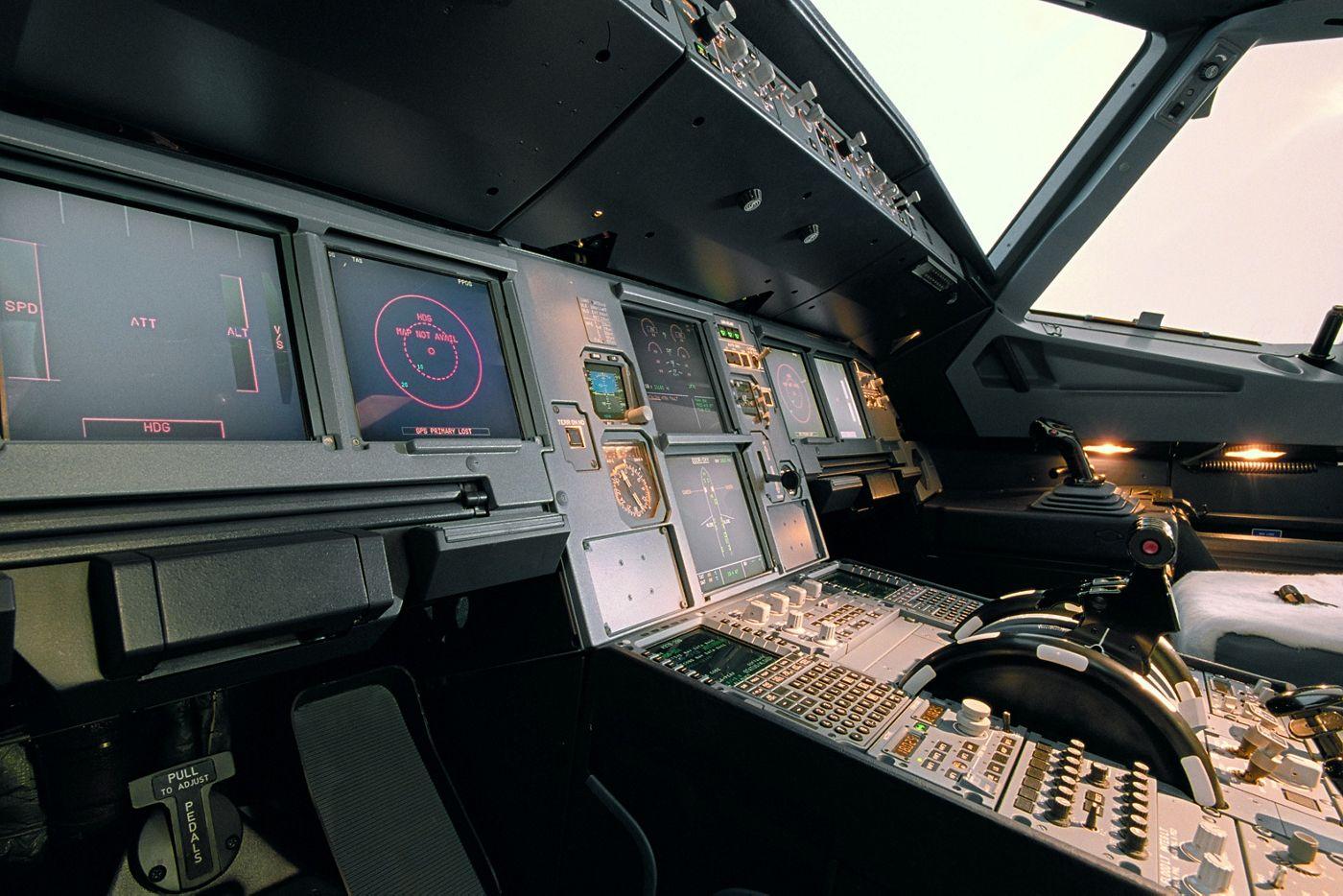 A320 cockpit virtual visit