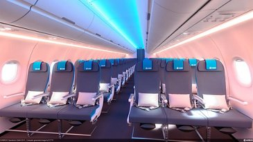 A320 Family supplier-furnished-equipment Economy Class seat option
