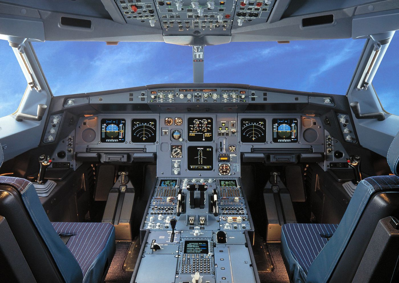 A330 cockpit virtual visit