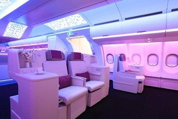 Aircraft Interiors Expo 2016_A330neo cabin 1