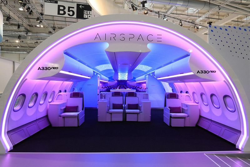 Image result for A330neo Airspace cabin