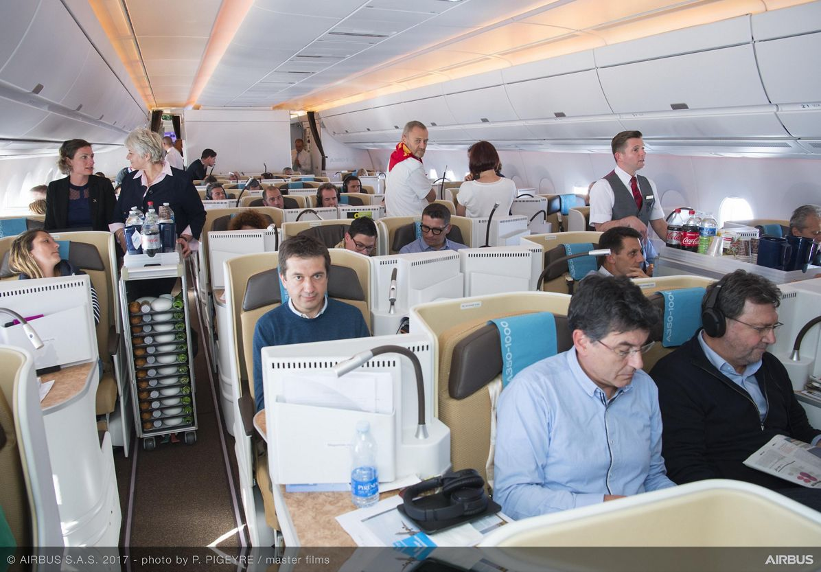 A350-1000_Early Long Flight – cabin 1
