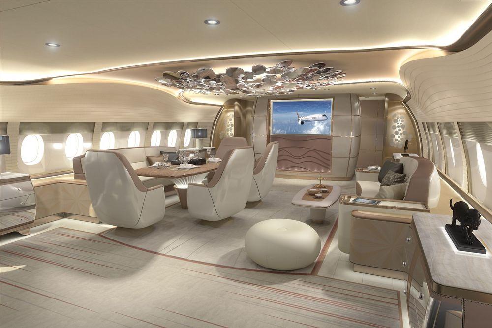 A350 DINING AFT WL