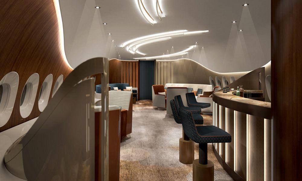 A350 Lounge1 UA