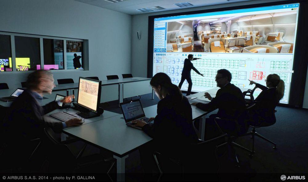 A350 XWB Customer Definition Centre – Meet Virtual Reality