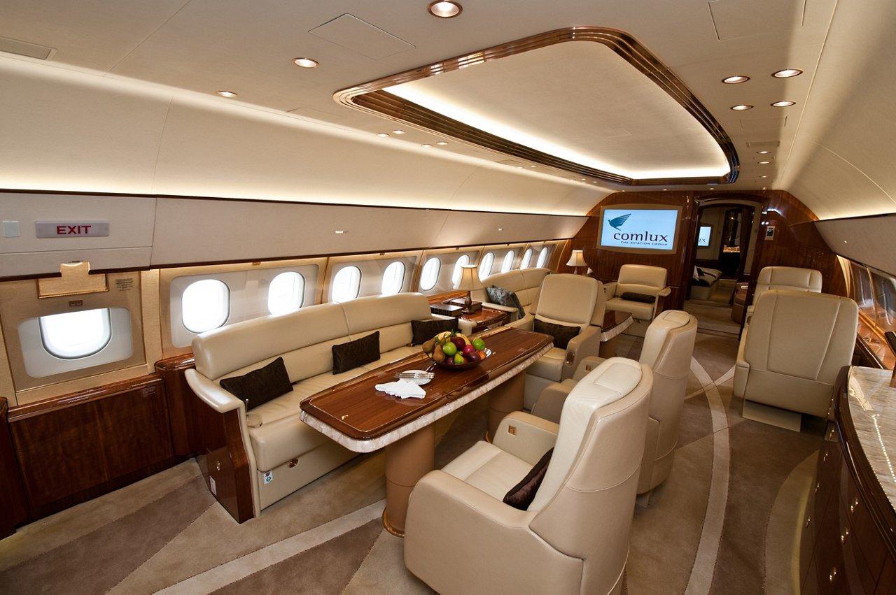 ACJ319 Comlux Airbus cabin
