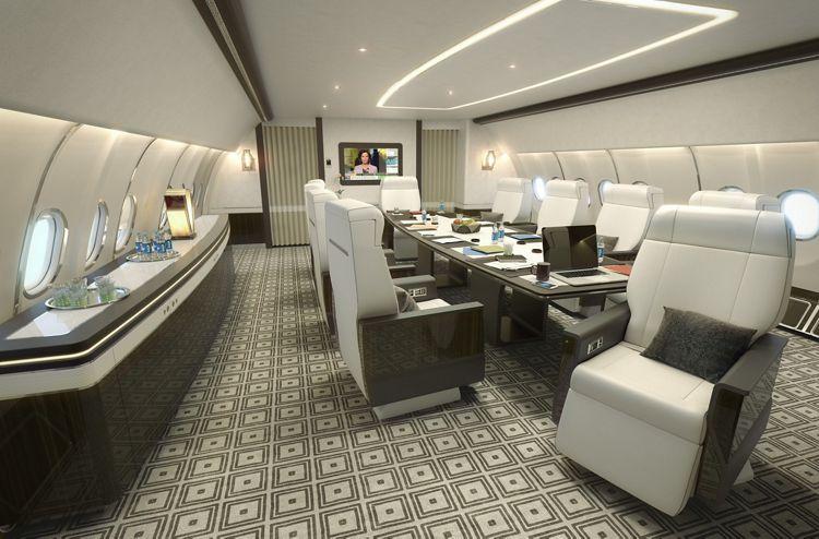 Airbus' VIP Summit cabin