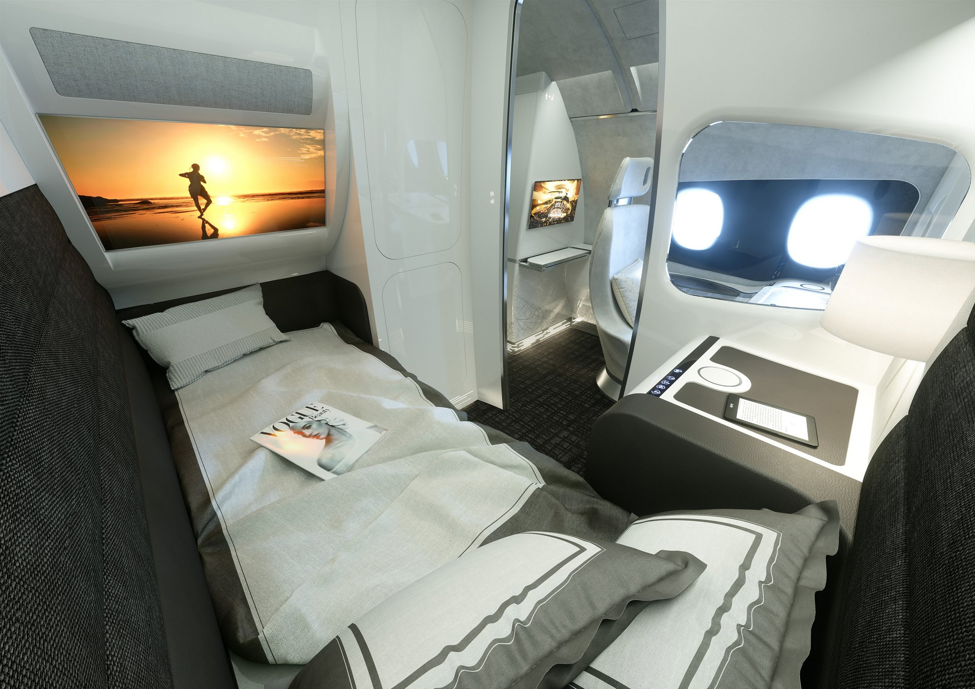 innovative cabin interior design | Airbus launches new subsidiary: Airbus Interiors Services ...