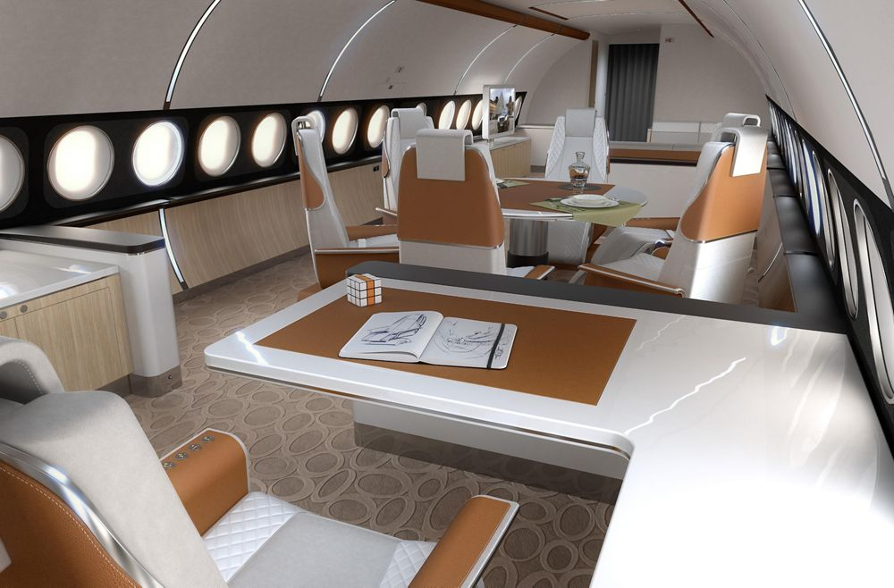 Airbus A319 Elegance office