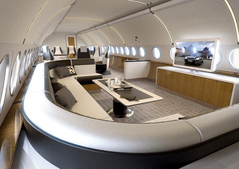 Airbus ACJ319 Elegance Lounge
