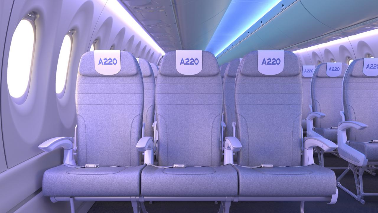 A220 Wide Economy Seats