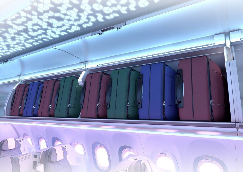 Airspace A320 XL Bins