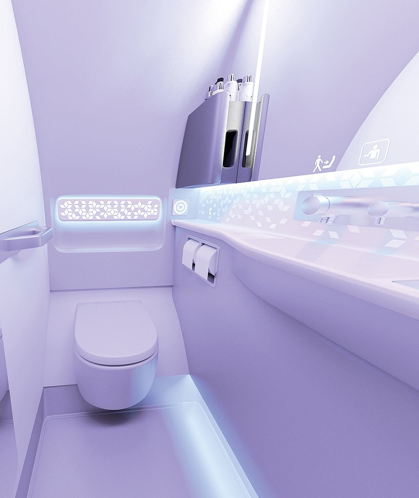 Airspace A320 Lavatory
