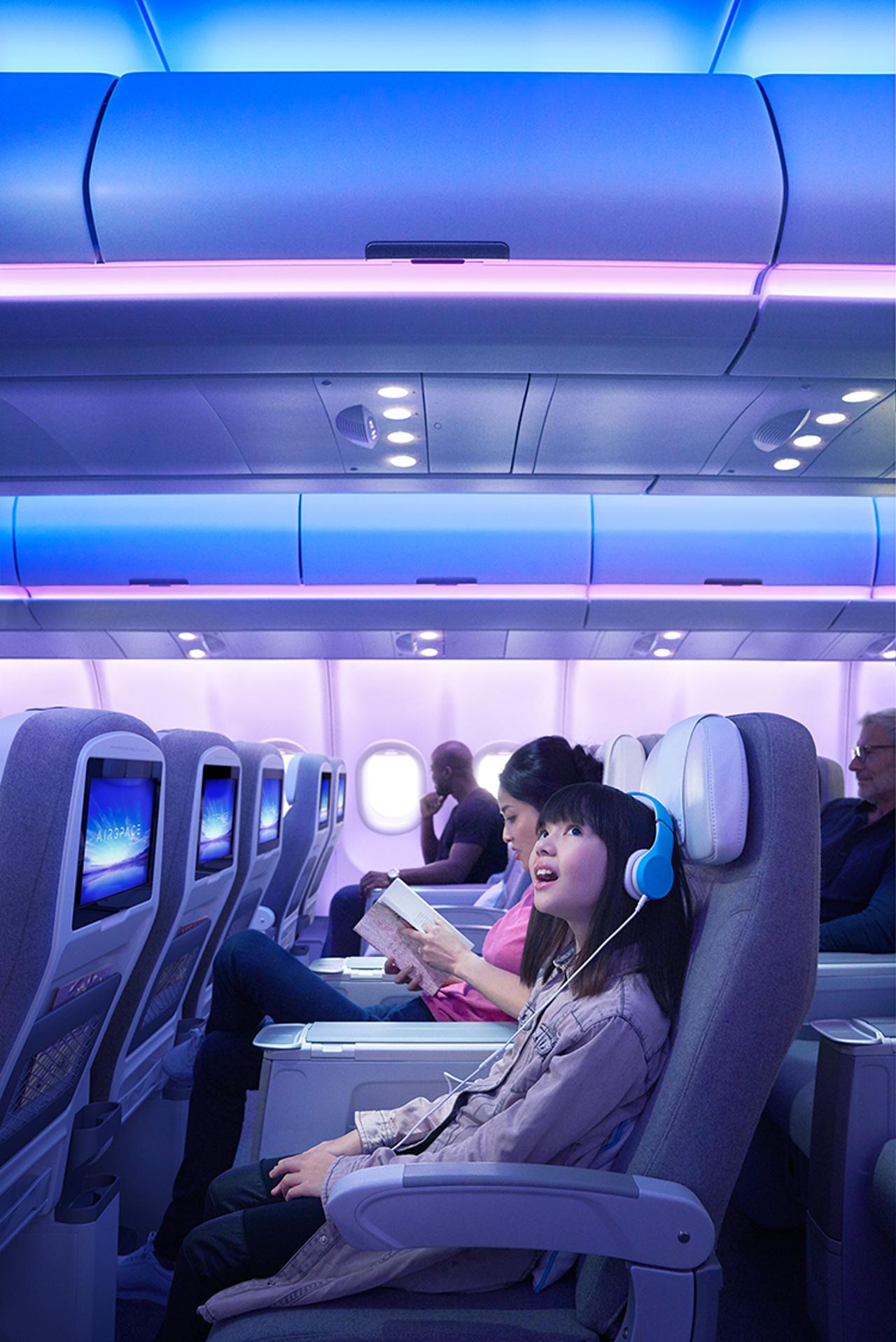 A330neo inside Cabin