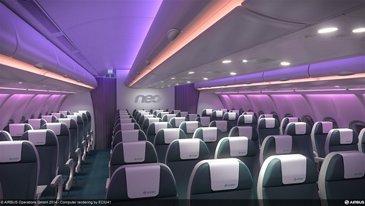 A330neo cabin economy class