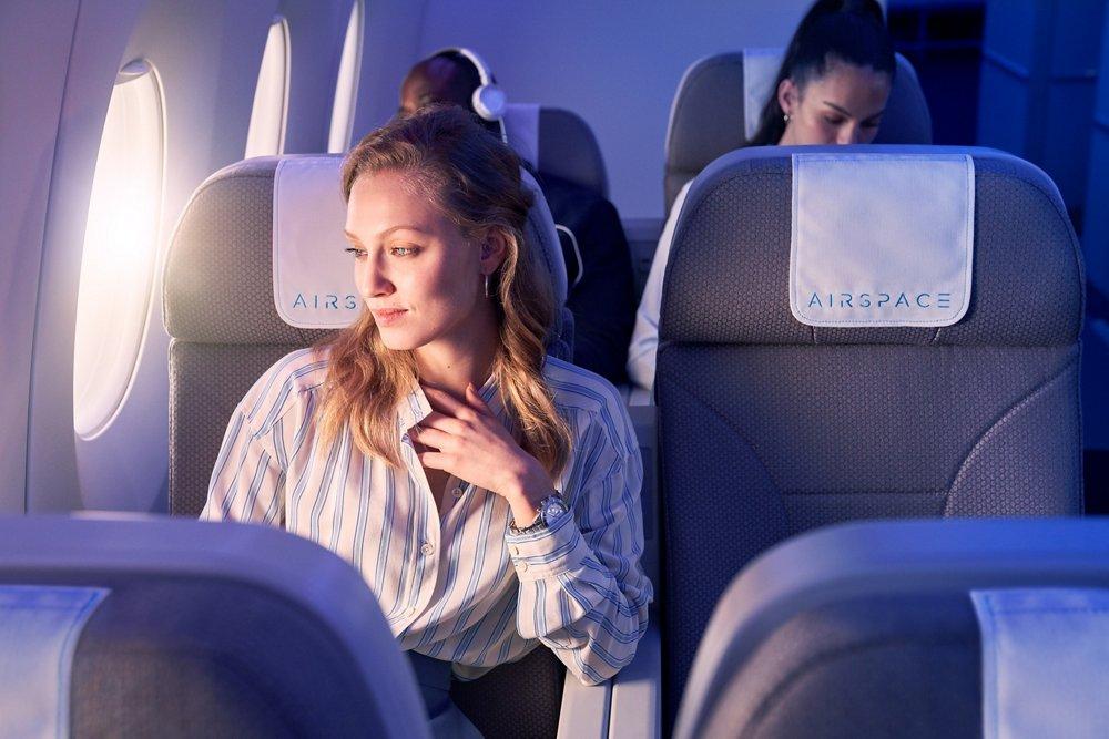 空域乘客座椅,坐落窗口提供优越的视野