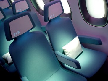 a350 cabin eco optic fibre seat numbering