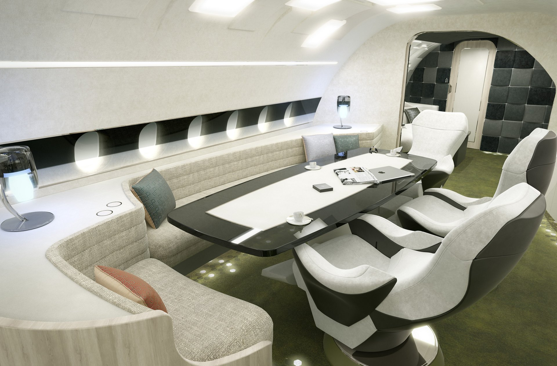 ACJ320neo Melody cabin_conference area 1