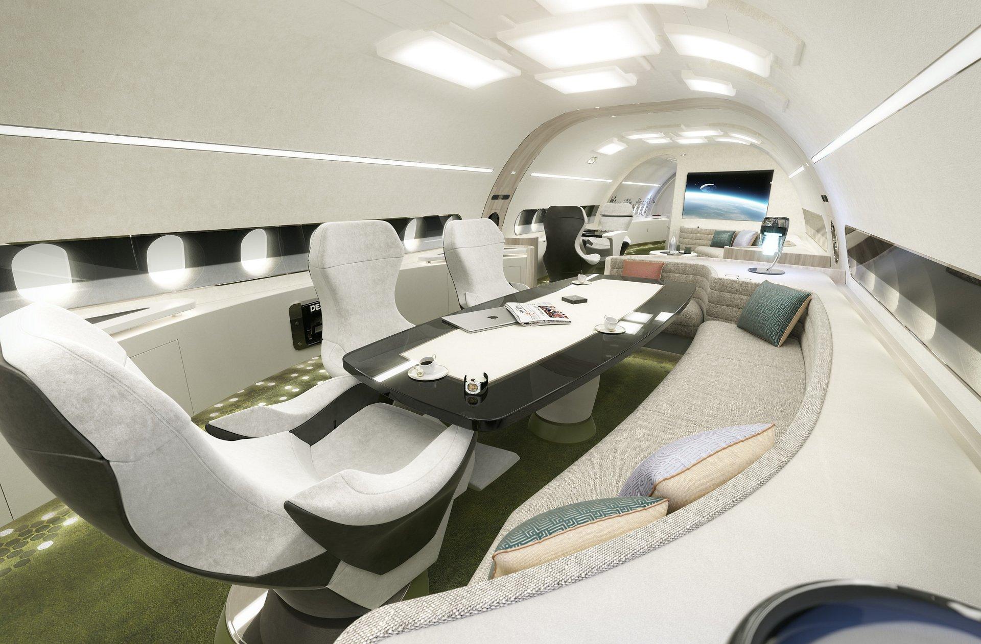 ACJ320neo Melody cabin_conference area 2