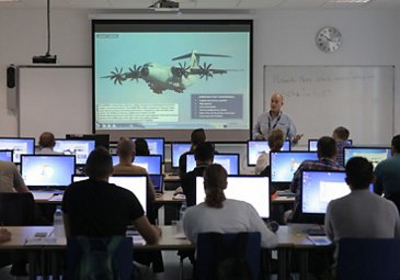 Military aircraft training – Instruction