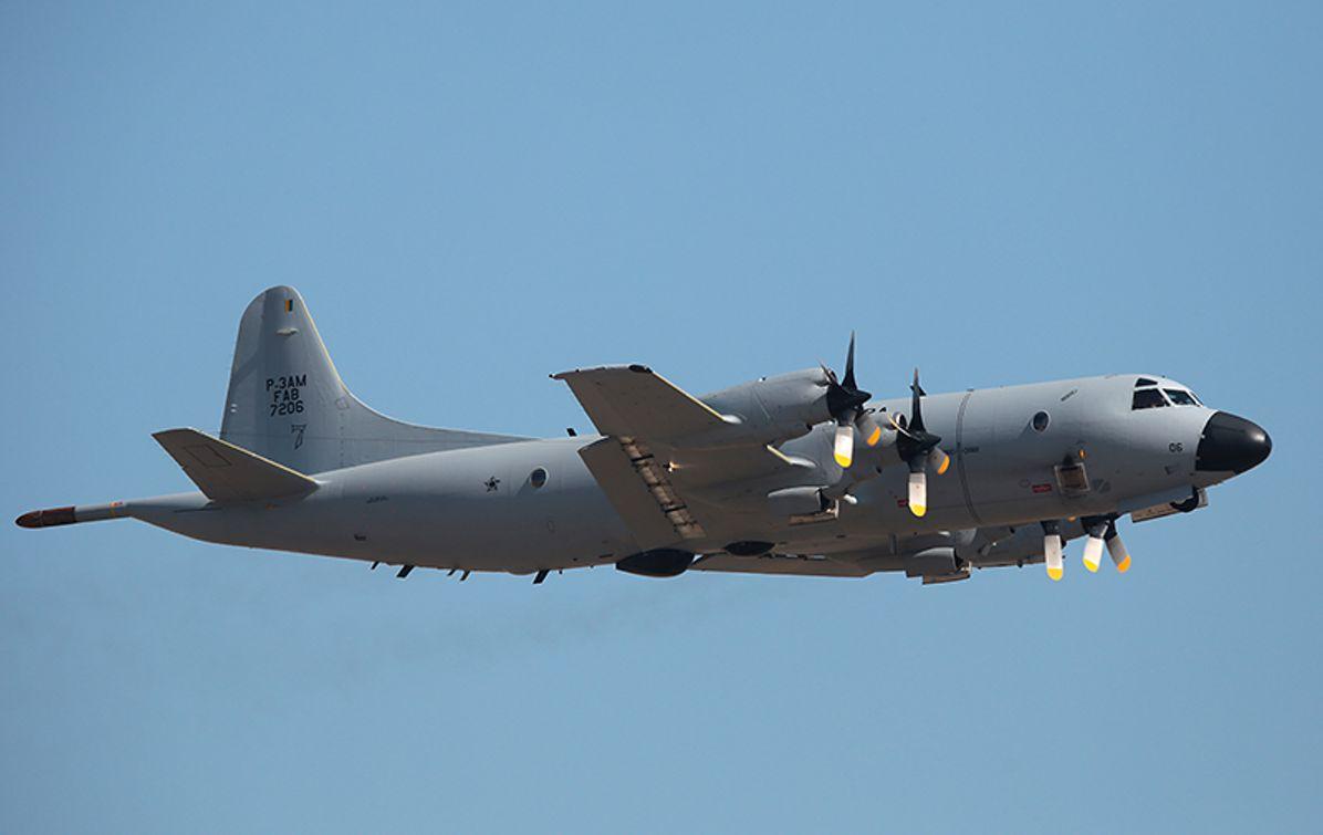 P-3 Orion anti-submarine warfare (ASW) aircraft