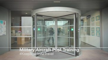Military aircraft training