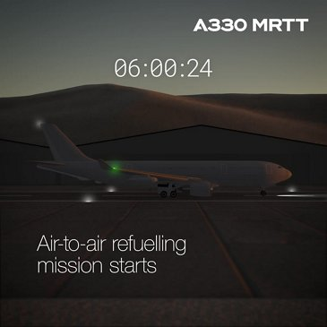 A day in the life of the A330 MRTT
