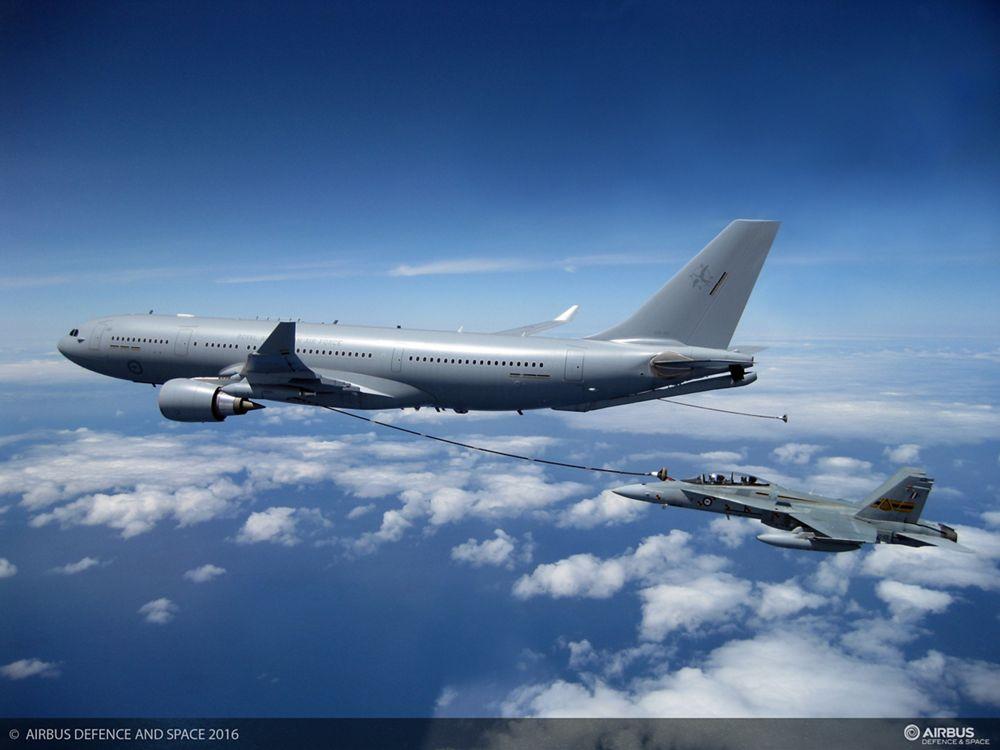 A330 MRTT RAAF Refuelling F 18